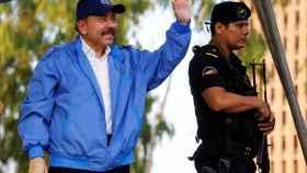 Ortega, en un acto público en mitad de la crisis que vive su país.