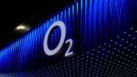 Logo de O2, la filial de Telefónica en Reino Unido que se fusionará con los negocios de Liberty Media.