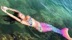 Anabel Pantoja luce una cola de sirena en sus redes sociales.
