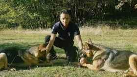 Fabiano Ettore entrenó a Kaos para misiones de salvamento y ahora es el turno de Kora
