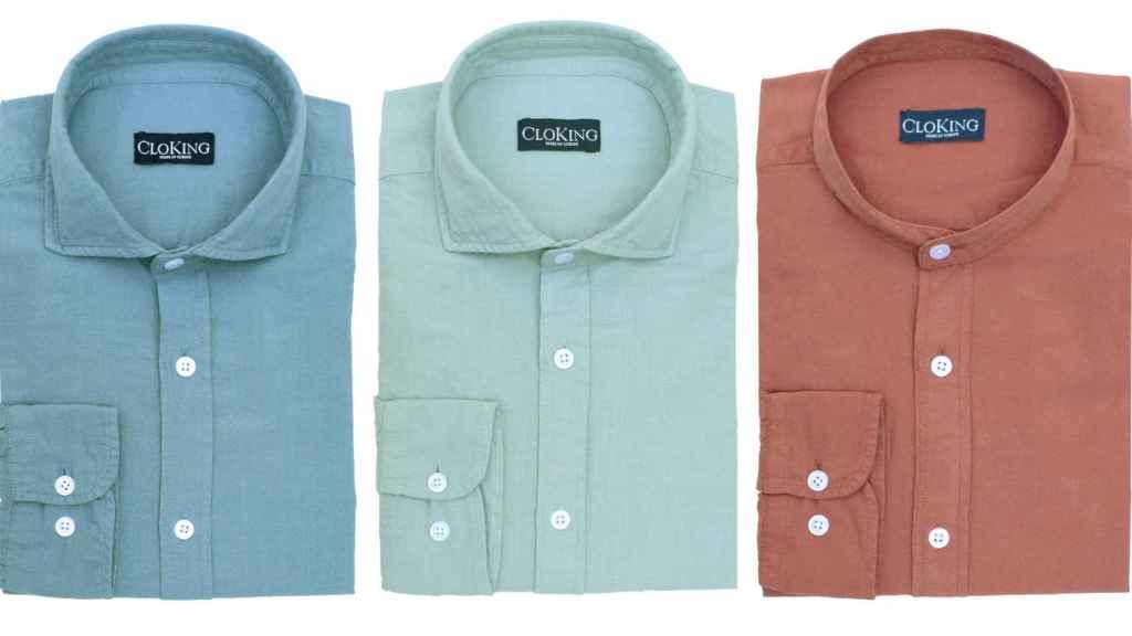 Las camisas unisex de 'Cloking'.