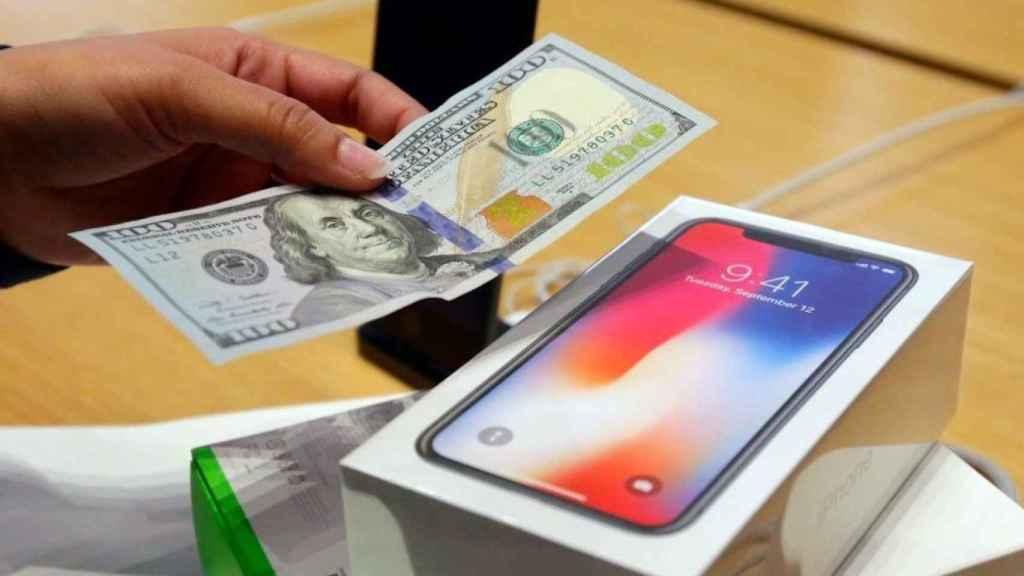 apple iphone dinero