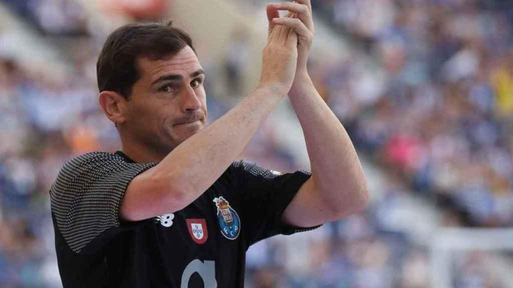 Iker Casillas, con el Oporto