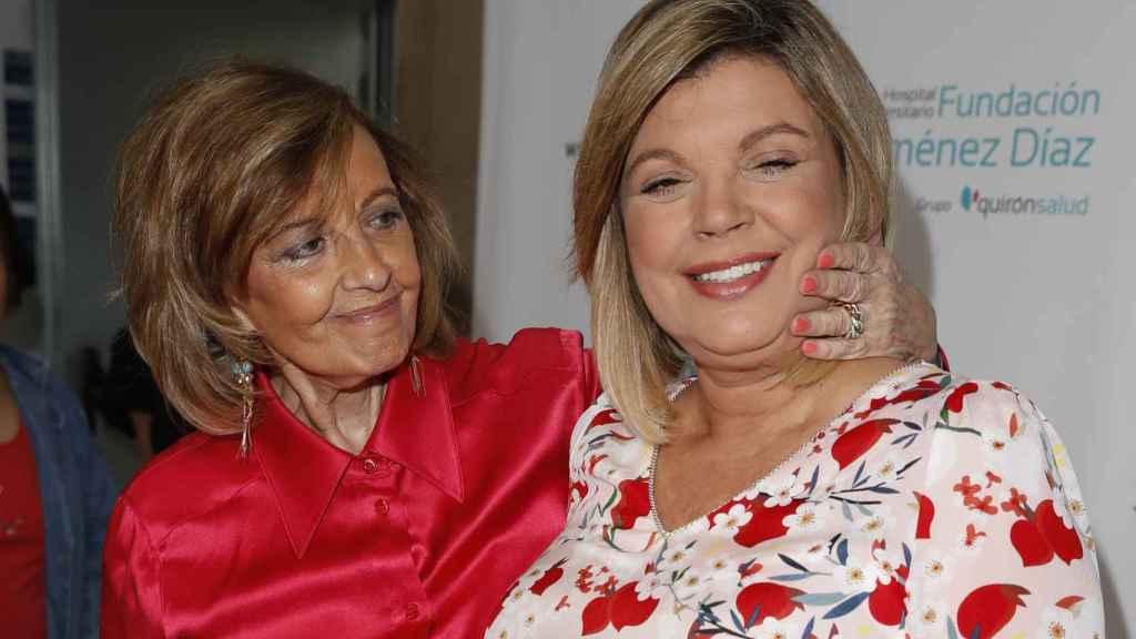 Teresa, el gran apoyo de su hija Terelu.