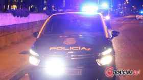 policia nacional noche