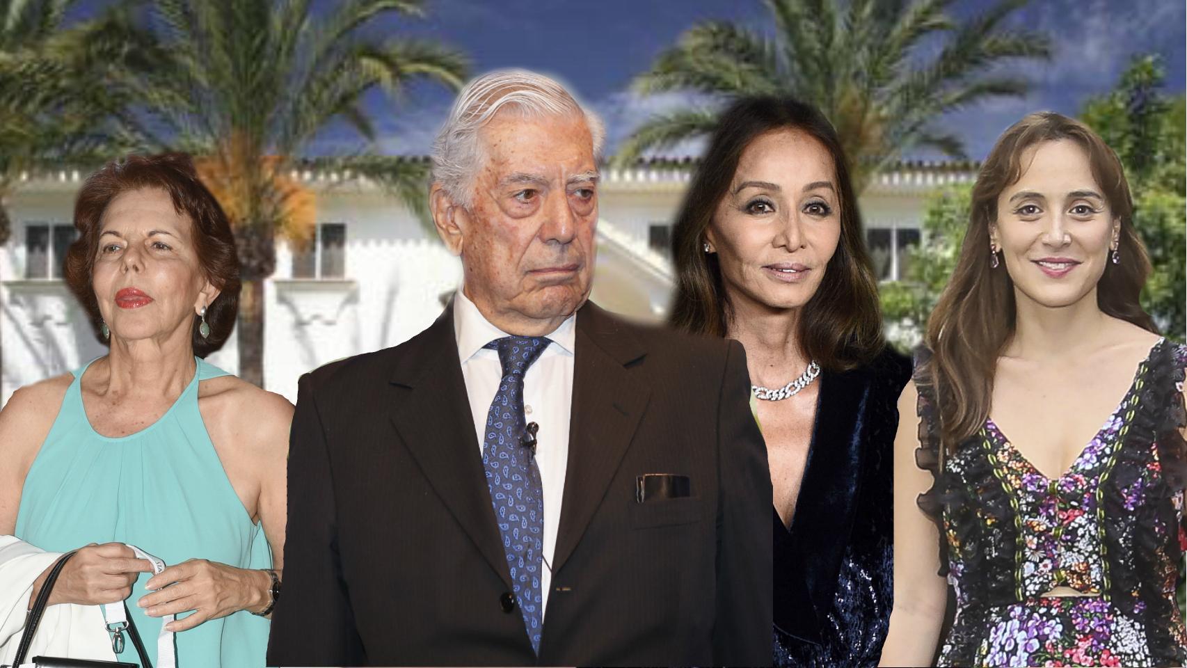 Un montaje en la Buchinger con Patricia LLosa, Mario, Isabel y Tamara.