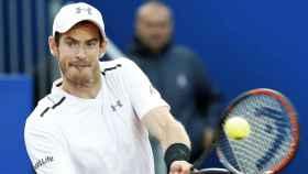Andy Murray durante un torneo. Foto: EFE