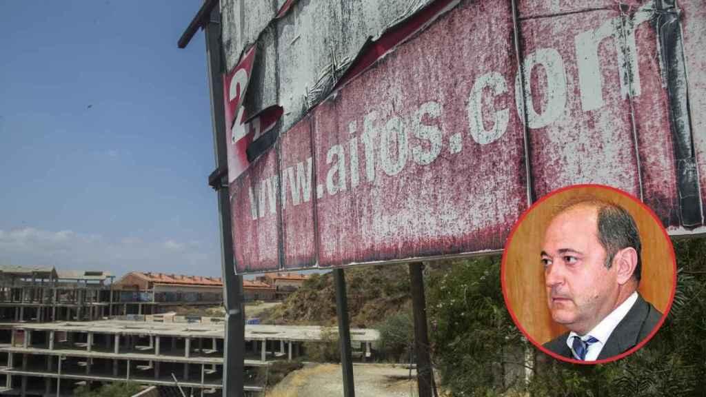 Jesús Ruiz, presidente de Aifos, llevó a cabo fuertes campañas publicitarias para vender miles de viviendas por toda Andalucía. Hoy, muchas de las urbanizaciones que quiso levantar, están medio derruidas.