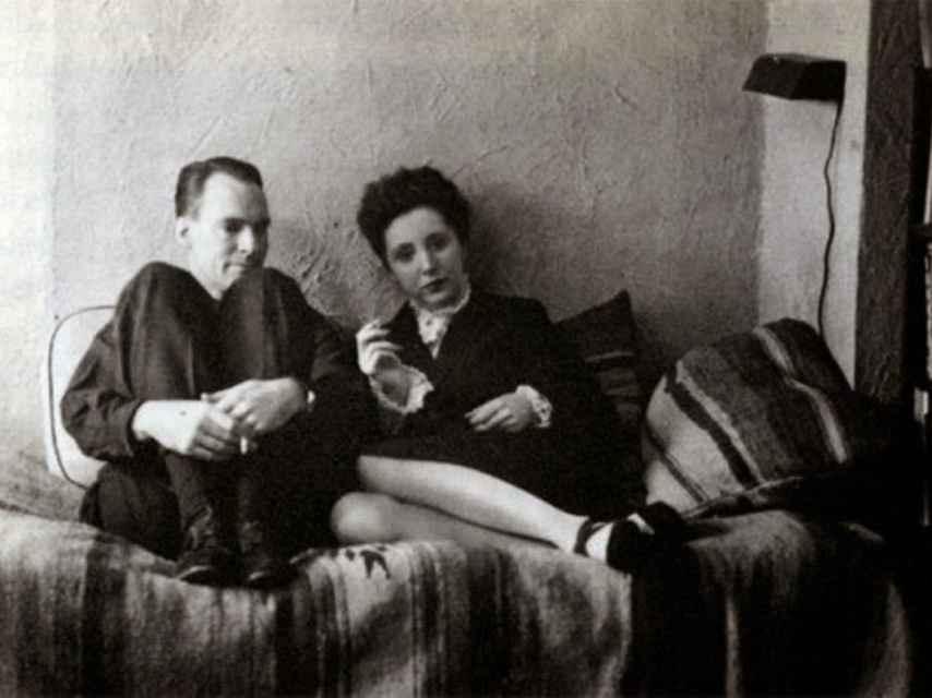 Hugh Parker Guiler y Anais Nin.