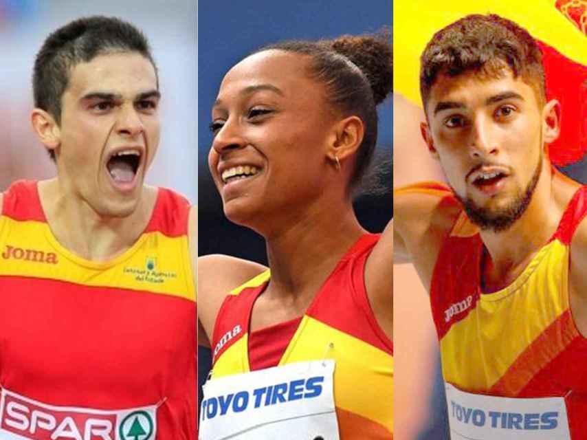Hortelano, Peleteiro y Ordóñez, tres de las grandes esperanzas de medalla en Berlín.