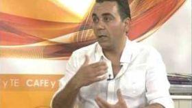 José Luis Pérez Meneses, en una imagen de televisión.