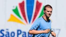 Igor Monteiro durante un partido. Foto: Comité Paralímpico Brasileño