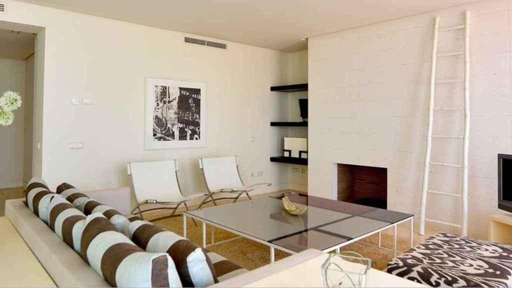 Interior de uno de los apartamentos.