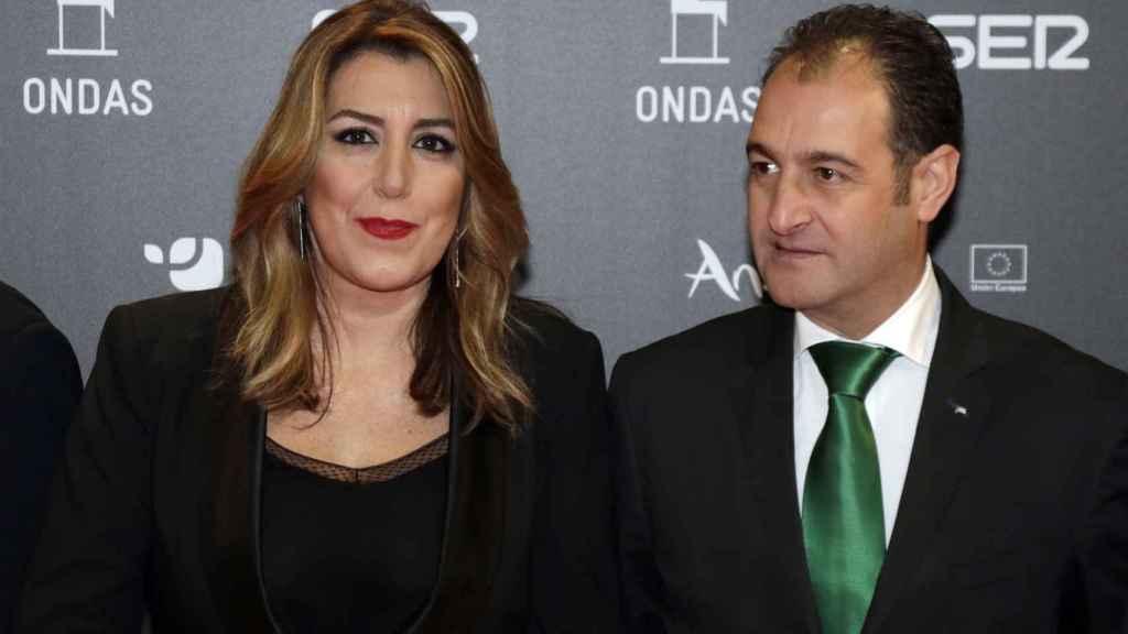 Susana Díaz y José María Moriche.