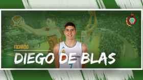 Diego de Blas nuevo jugador del Huesca. Foto: Instagram (@CBPHuesca)