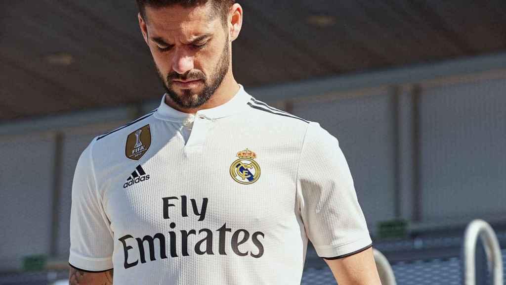 Primera camiseta del Real Madrid