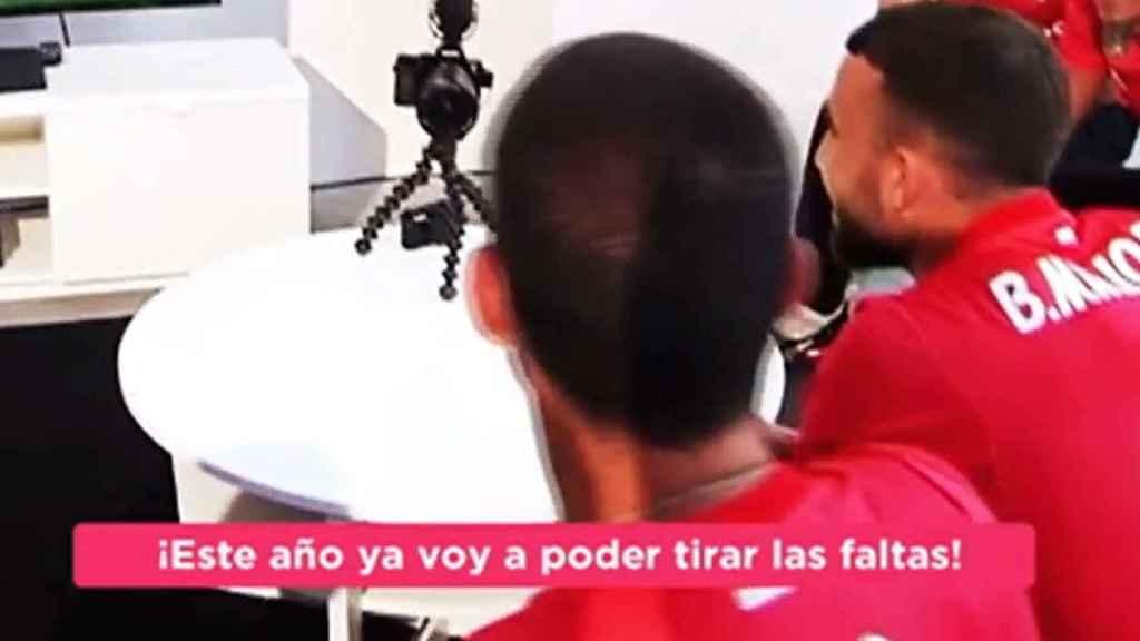Isco manda un mensaje a Cristiano jugando al FIFA