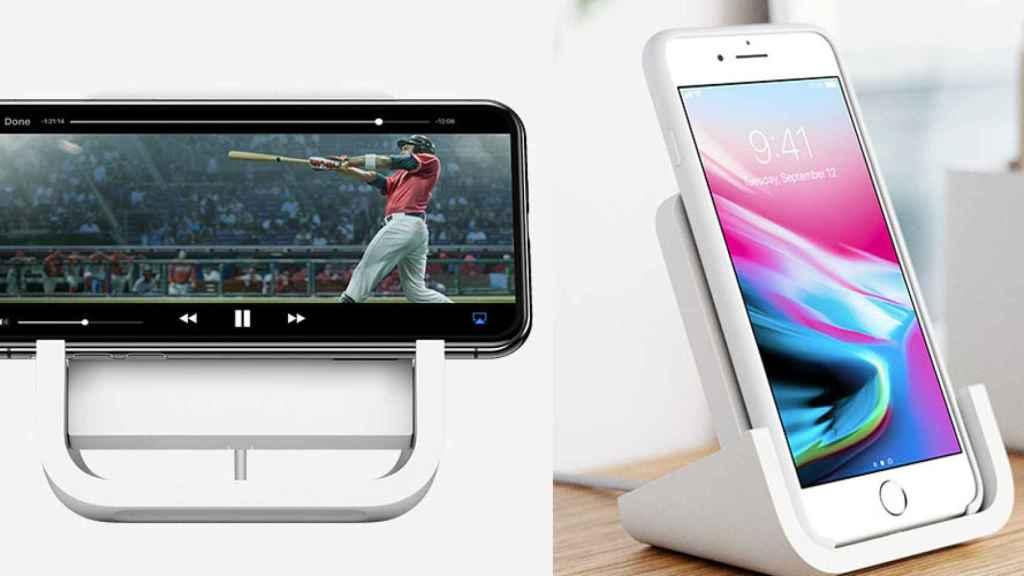 cargador inalambrico apple logitech powered iphone