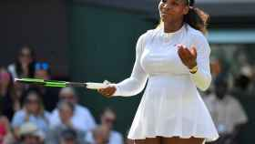 Serena Williams, en la final de Wimbledon.