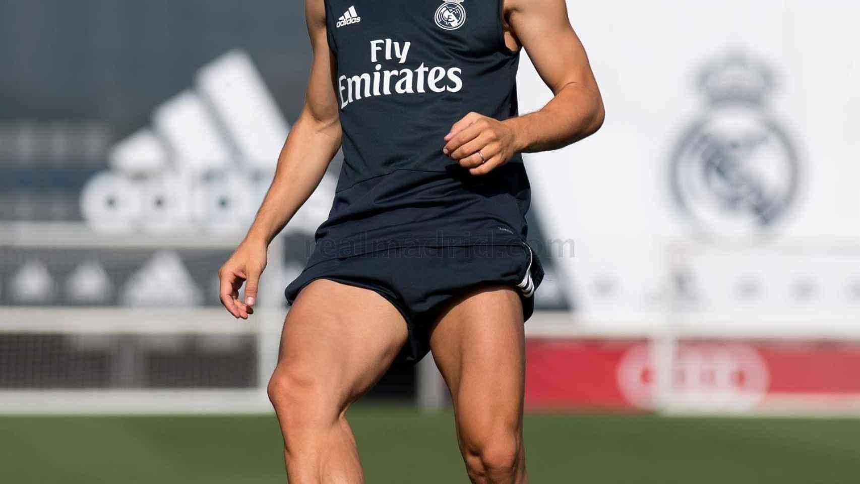 Modric se entrena con el Real Madrid en Valdebebas