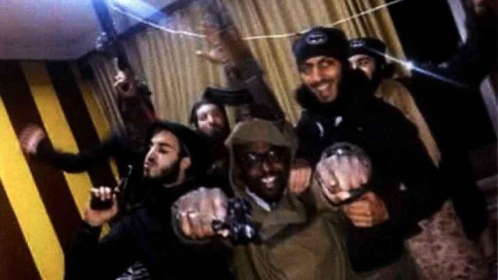 Uno de los investigados en Estrasburgo  por intentar atentar en Francia en un vídeo del Estado Islámico.