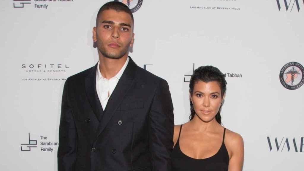 Kourtney Kardashian y Younes Bendjima en una imagen de archivo.