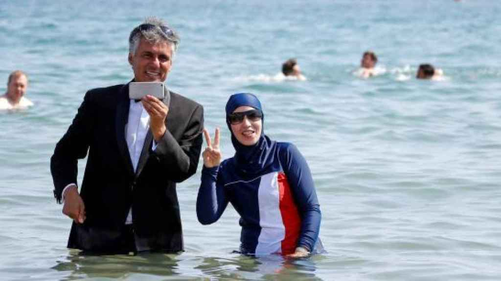 El argelino millonario Rachid Nekkaz