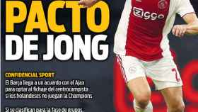 Portada del diario Sport  (09/08/2018)