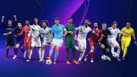 Los nominados a los premios de la UEFA Champions League 2017/2018