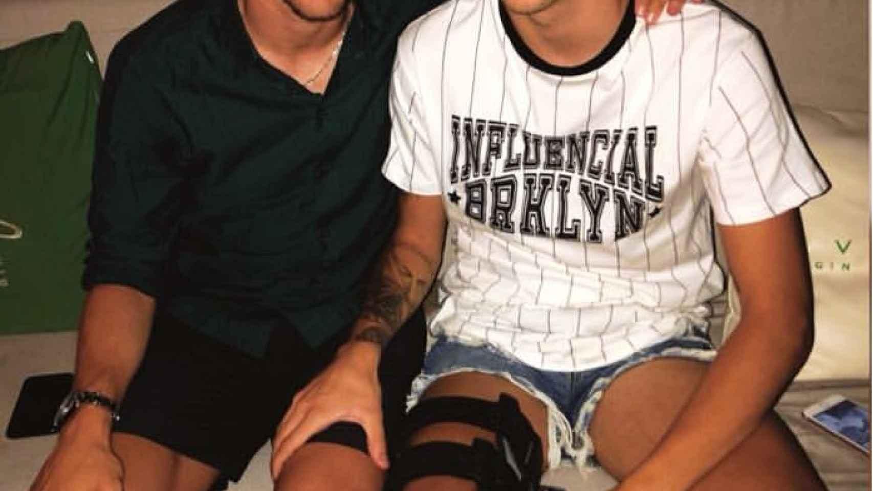 Luka Modric y César Gelabert