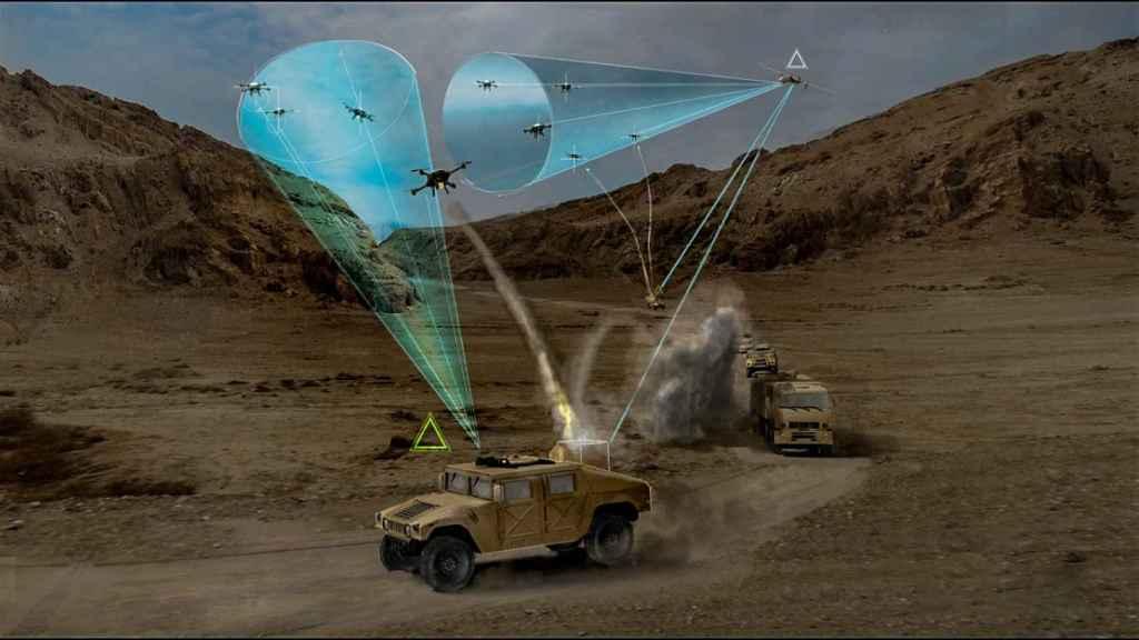 drones microondas armas