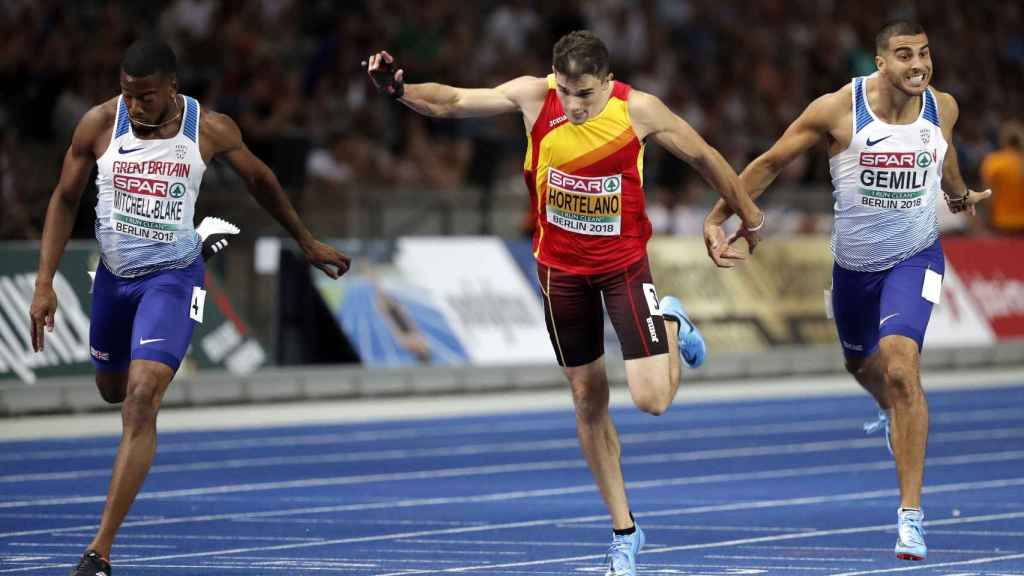 Decepción de Bruno Hortelano: se queda sin medalla en la final de 200 metros
