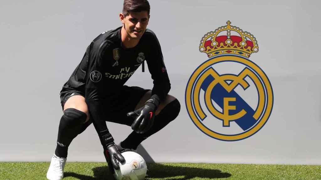 Thibaut Courtois, presentado como jugador del Real Madrid