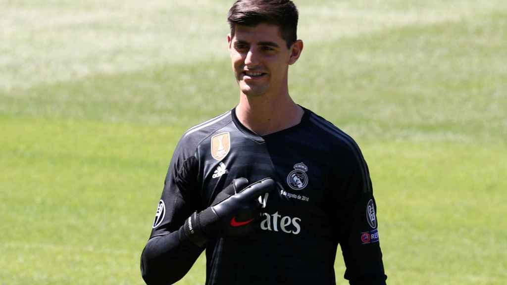 La Historia De Por Qué Courtois Es Madridista Casillas Y Una Camiseta