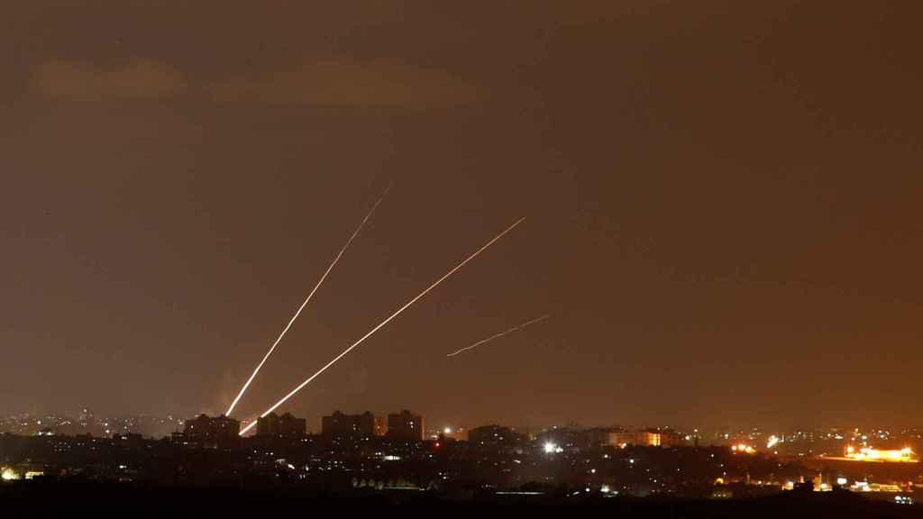 Respuesta israelí al ataque de Hamás