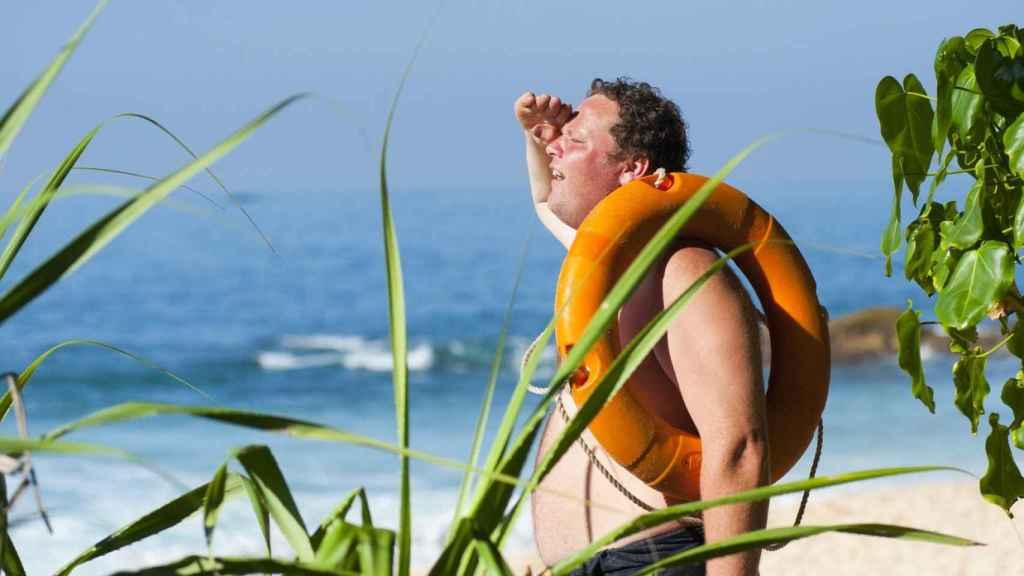 Una exposición permanente al sol sin protección es motivo de golpe de calor.