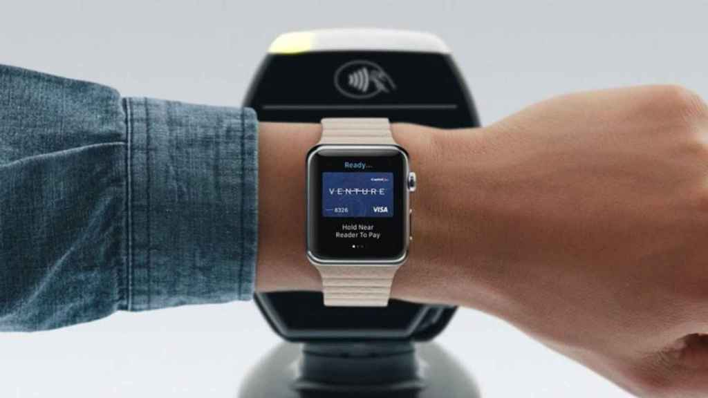 apple watch apple pay pagos moviles