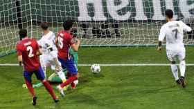 Sergio Ramos y su gol en la final de Champions 2016 en Milán.
