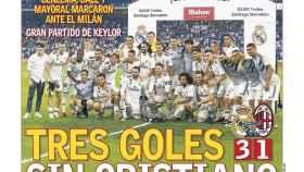 La portada del diario AS (12/08/2018)