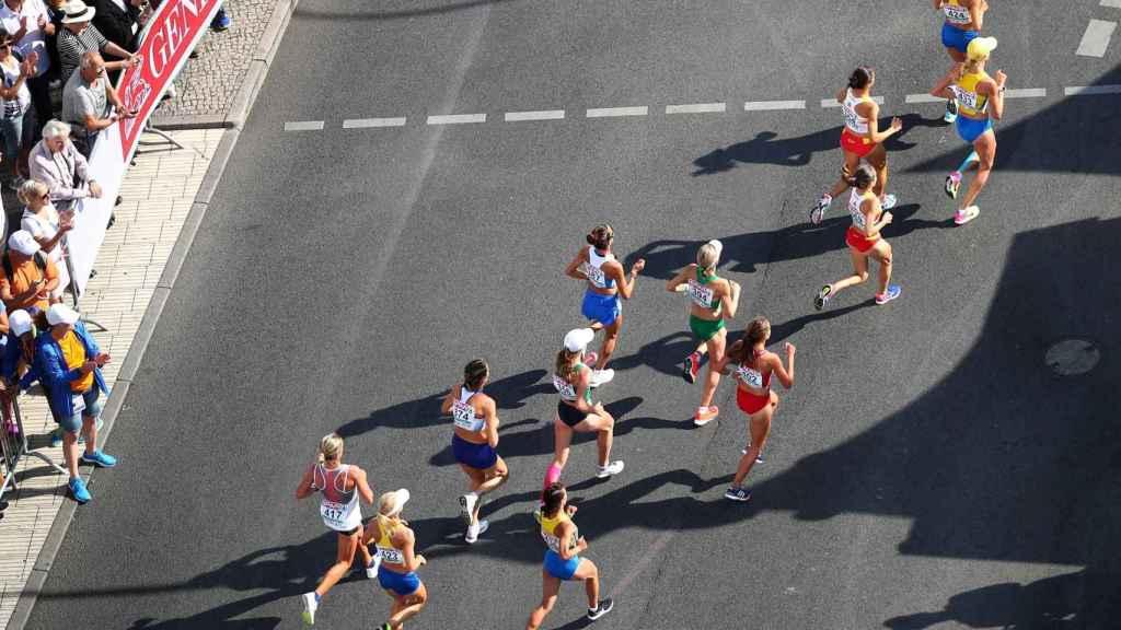 Maratón femenina en Berlín