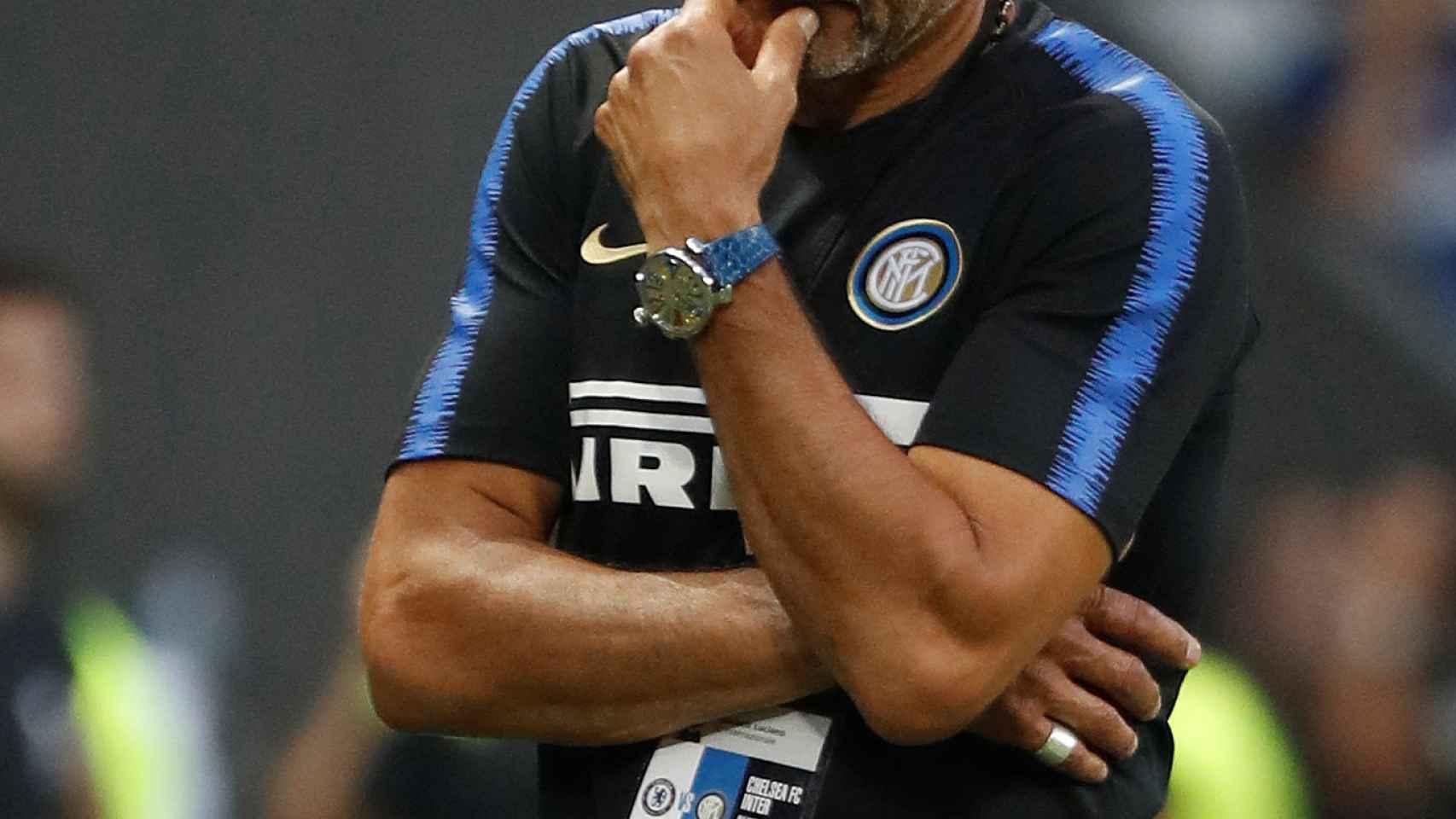 Spalletti, entrenador del Inter de Milan