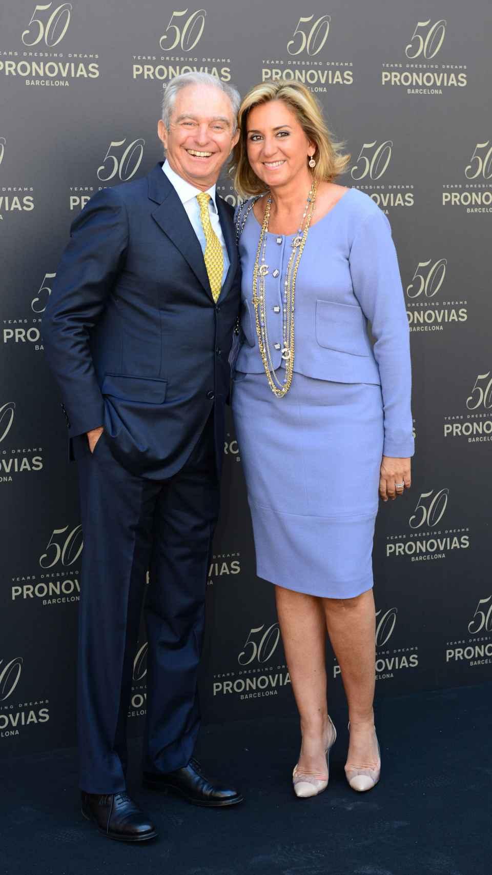 Alberto Palatchi y Susana Gallardo en un 'photocall'.