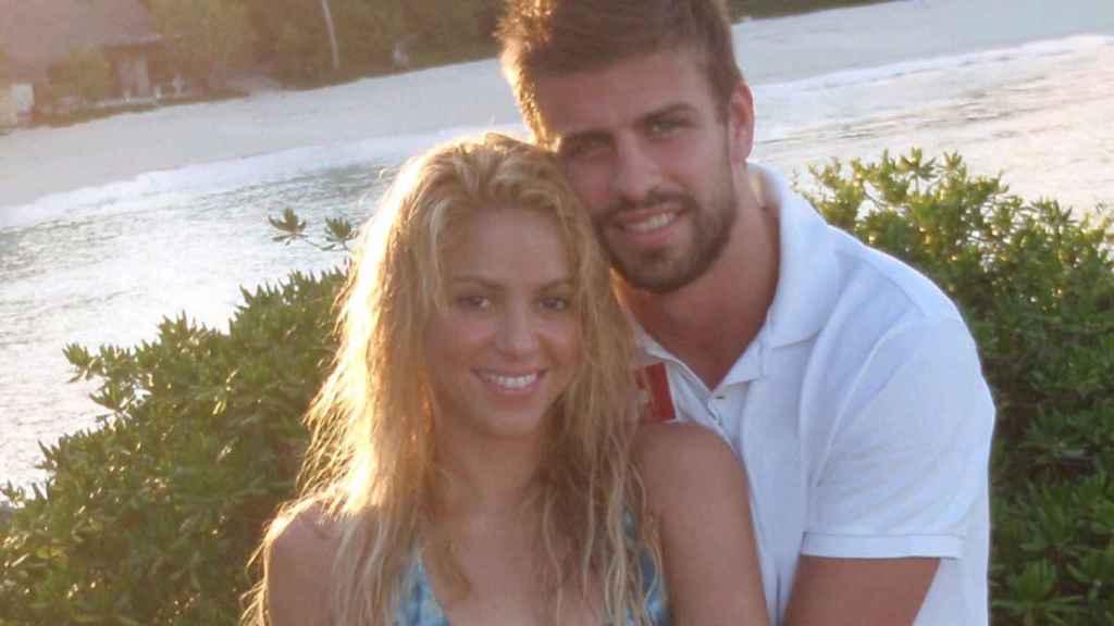 Shakira y Piqué, en el año 2010, su primer verano.