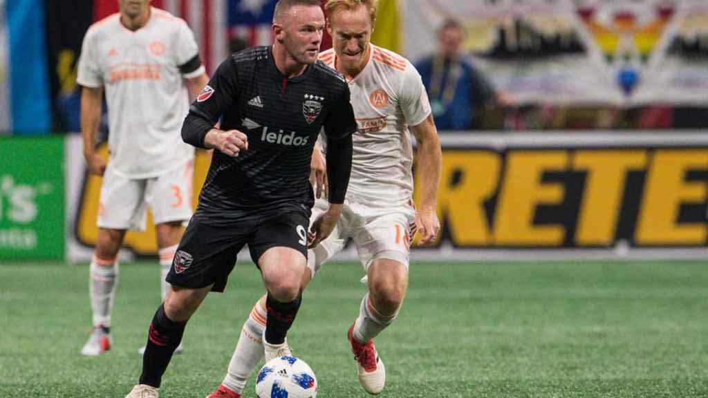 Rooney, en un partido con el DC United.