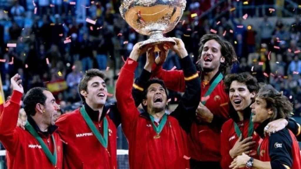 La última Copa Davis levantada por España.