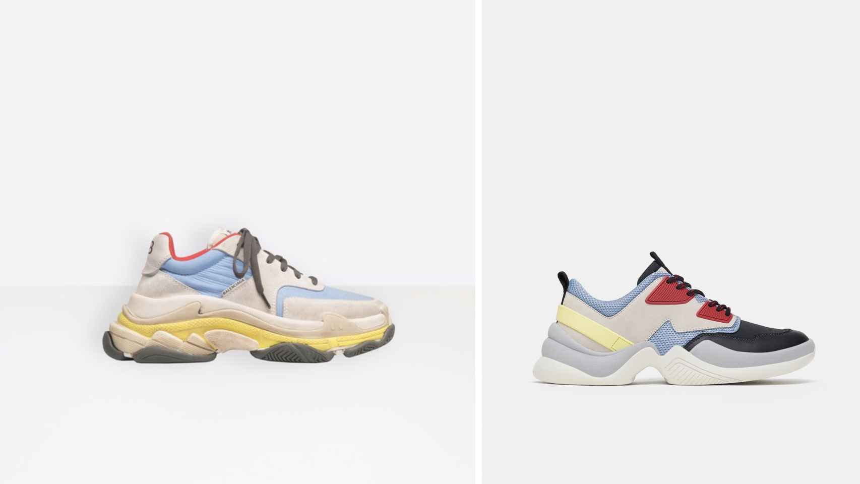 sala Kent Sudán  Inditex replica las famosas zapatillas de Balenciaga
