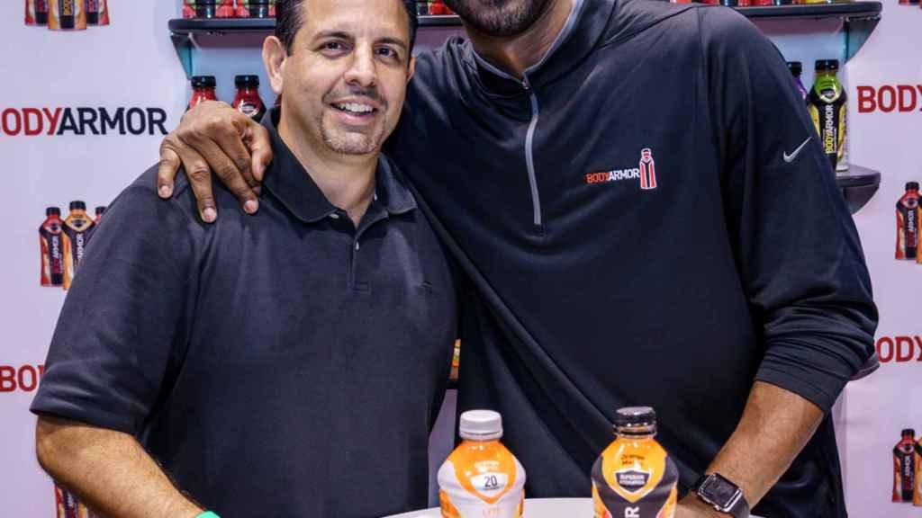 Kobe Bryant, tercer accionista de Bodyarmor