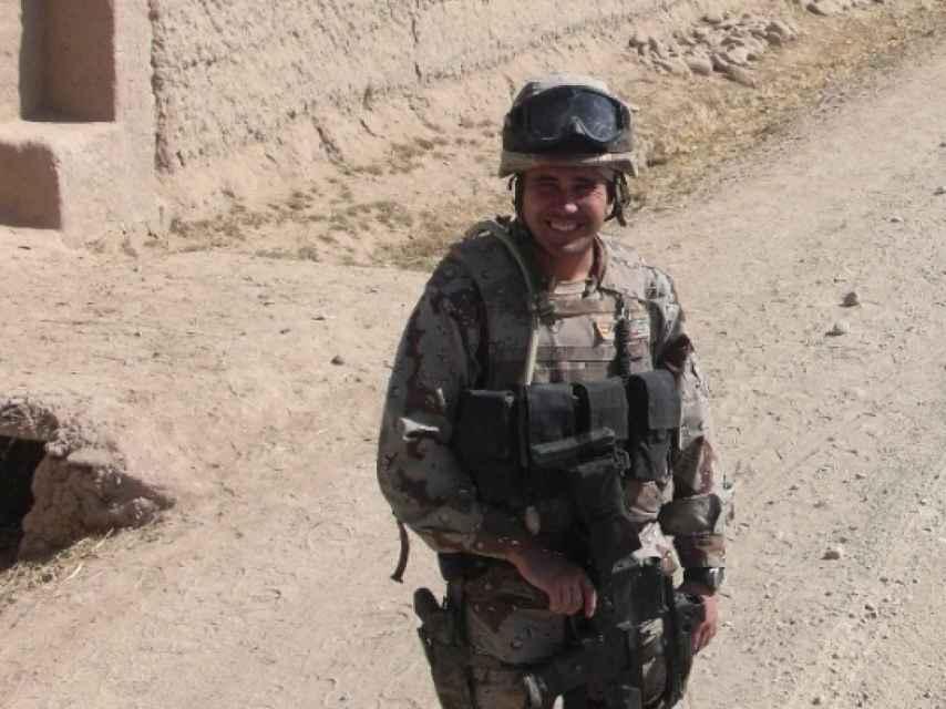 El sargento Serantes, en una fotografía facilitada por el Ejército de Tierra.