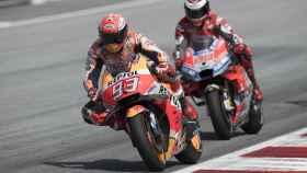 Jorge Lorenzo y Marc Márquez en el Gran Premio de Austria.