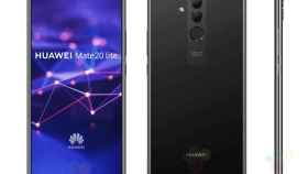 Nuevas imágenes del Huawei Mate 20 Lite confirman su diseño